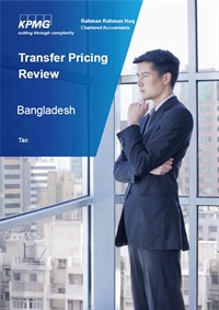 Transfer Pricing Front Page